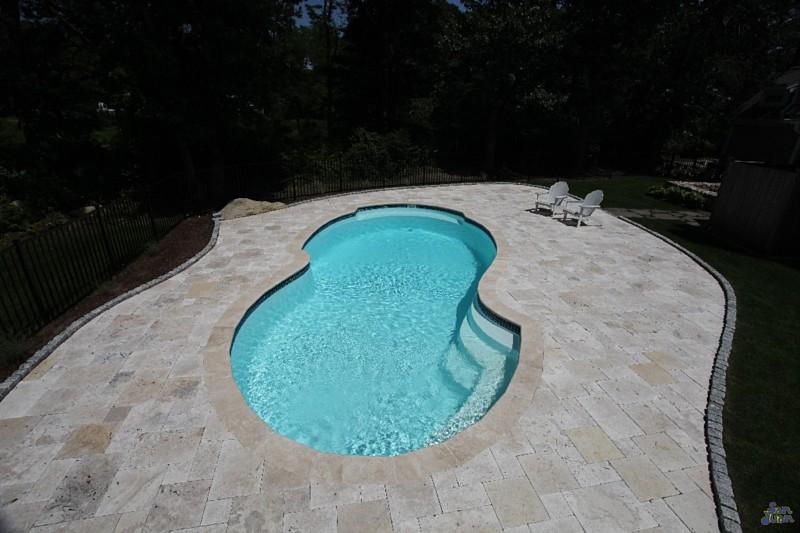 san juan fiber glass pools vinyl liner pools st charles. Black Bedroom Furniture Sets. Home Design Ideas