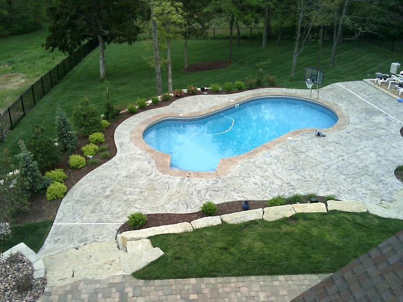 Completed Pools O Fallon Missouri Mo