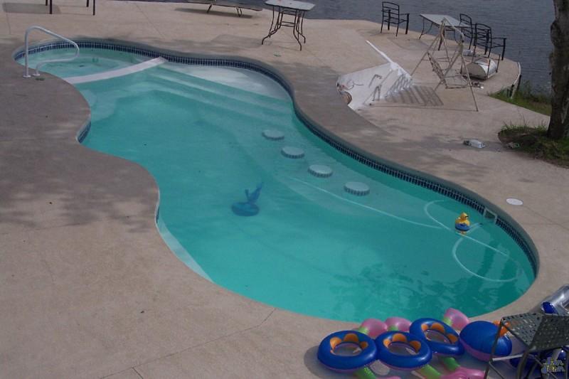 San Juan Fiber Glass Pools Vinyl Liner Pools St Charles