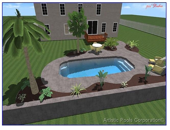 3 D Designs Pool Designs Pool Designer St Louis