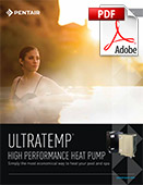 Ultratemp High Performance Heat Pump Brochure