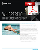 Whisperflo High Performance Pump Brochure